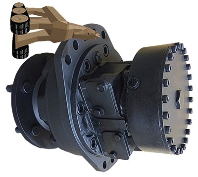Caterpillar 349ELVG Hydraulic Final Drive Motor